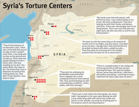Syria: Torture Centers Revealed | Human Rights Watch | The Fight Against Torture | Scoop.it