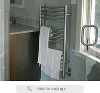 Jeeves - C Curved Heated Towel Warmer By Amba Towel Warmers | Towel Warmers | Scoop.it