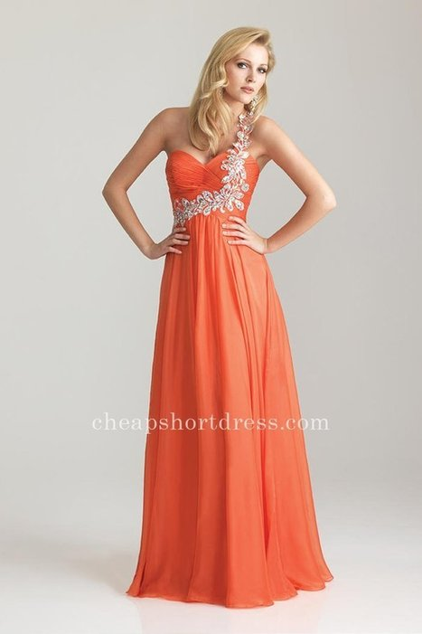Bead One Strap Orange Night Moves 6679 Long Prom Dresses [Night Moves 6679] - $176.00 : Short dresses | Homecoming Dresses | Short Bridesmaid Dresses | Cocktail Dresses | Prom & Homecoming Dresses | Scoop.it