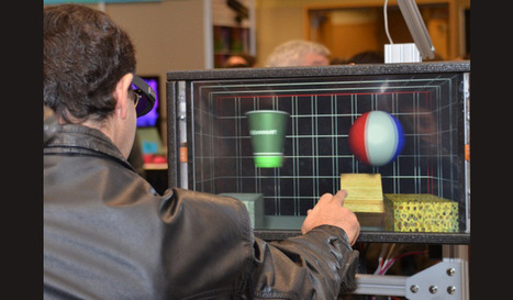 Microsoft Research shows off force feedback 3D touchscreen - ExtremeTech | Interactive touch tables | Scoop.it