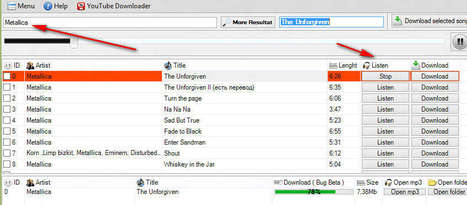 Online Music Downloader and Player: GetMP3 | Time to Learn | Scoop.it