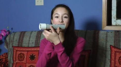 15-year-old girl invents flashlight powered by the heat of your hand | ExtremeTech | Development Economics - African growth & development | Scoop.it
