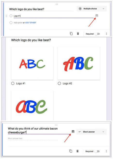 Google Formulare mit Bildoption für Fragen und Antworten | Moodle and Web 2.0 | Scoop.it