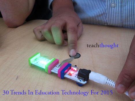 30 Trends In Education Technology For 2015 | Educación a Distancia y TIC | Scoop.it