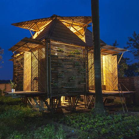 Un prototype de maison en bambou | Comment concevoir et protéger une innovation | Scoop.it