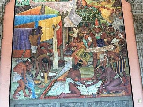 Diego Rivera montre la vie des Aztèques | Share Some Love Today | Scoop.it