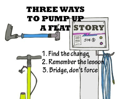 Three Ways to Pump Up A Flat Story | Wakingstar | AMEA Communications | Scoop.it