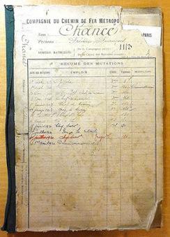 Degrés de parenté: Une matinée aux Archives historiques de la RATP | GenealoNet | Scoop.it