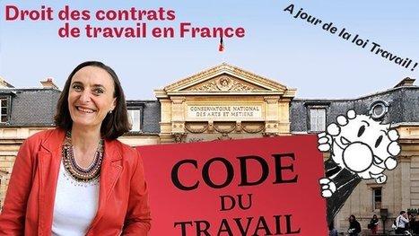 Mooc sur le droit des contrats de travail en France | Vigie des entreprises | Scoop.it