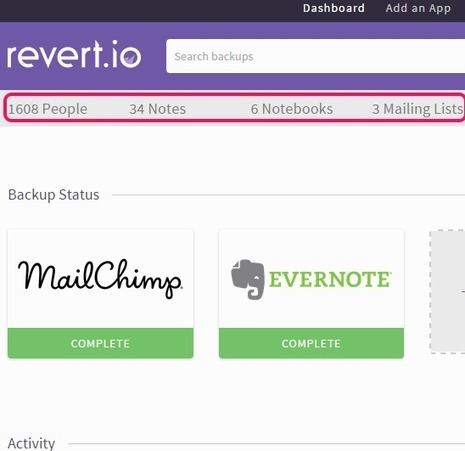 How To Take Backup of Evernote and MailChimp | Time to Learn | Scoop.it