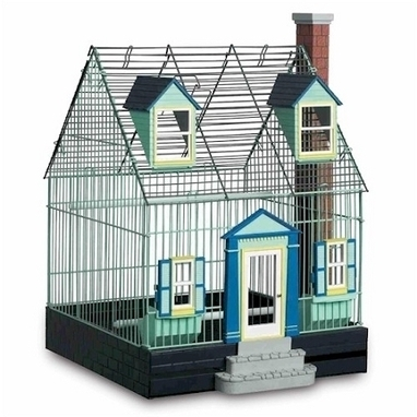 Featherstone Heights Cape Cod Bird Cage - Cats, Dogs, and Pets | Entrepreneural Spirit | Scoop.it