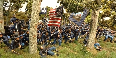 UKReb's American Civil War Toy Soldiers Diorama - Military Miniatures HQ | Military Miniatures H.Q. | Scoop.it
