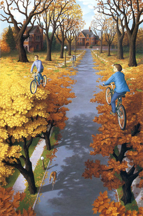 23 Mind-Bending Paintings By Canadian Artist Rob Gonsalves | Inspired By Design | Scoop.it