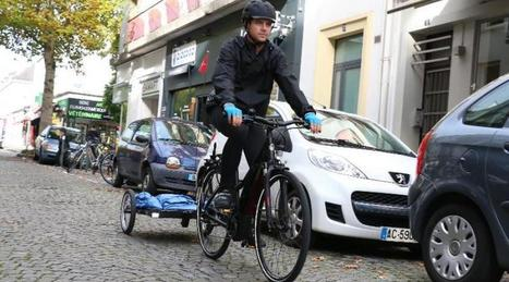 Feel à vélo : des livreurs urbains et écolos à Lorient | Coopération, libre et innovation sociale ouverte | Scoop.it