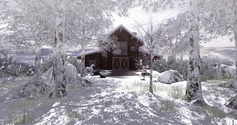"""""""Winter came early in some places""""   SL Homes & Gardens Scoop   Scoop.it"""