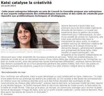 Katsi catalyse la créativité   La créativité au service des entreprises - Approches et attitudes   Scoop.it
