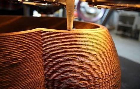 Olhar Digital: Maior impressora 3D do mundo constrói casas a partir de materiais orgânicos | tecnologia s sustentabilidade | Scoop.it