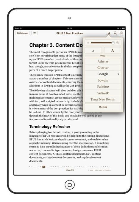 Les 3 interfaces du livre numérique | livre numérique | Scoop.it