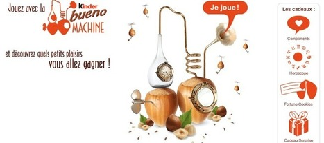 Kinder Bueno Machine | Jeux Concours Internet | DEGHAMSI  HOUARI | Scoop.it