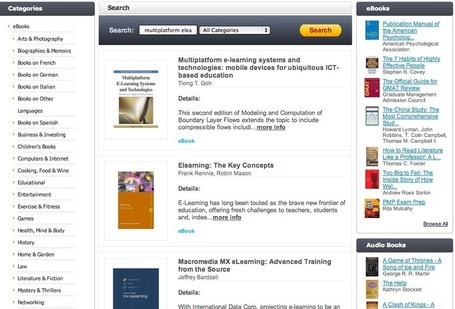Search - 1001 eBook to Download | Learning Commons - 21st Century Libraries in K-12 schools | Scoop.it