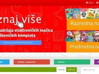 Digitalni udžbenici na Školskom portalu | libraries and education | Scoop.it