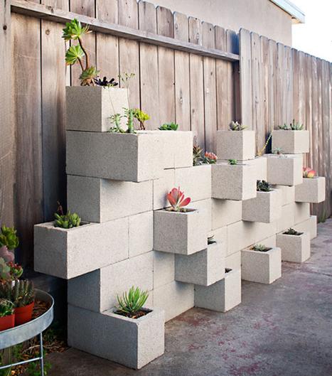 Cinderfella's Vertical Garden Planter - Urban Gardens | Gardening | Scoop.it