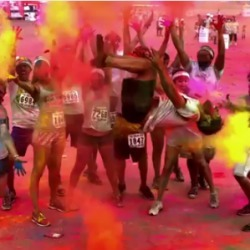 La Color Run, la course qui vous fait prendre des couleurs | ParisBilt | Scoop.it