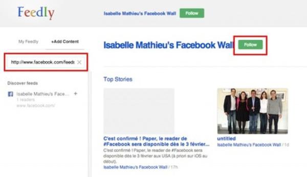 Comment s'Abonner au Flux RSS de n'Importe Quelle Page Facebook ? | Emarketinglicious | Curation, Veille et Outils | Scoop.it