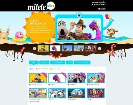 Mediaset España lanza MiteleKids, nueva plataforma de contenidos online - mundoplus.tv   Big Media (Esp)   Scoop.it