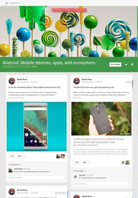 Google+ s'apprête à lancer la création de catégories thématiques pour classer les posts - #Arobasenet.com | Les Outils du Community Management | Scoop.it