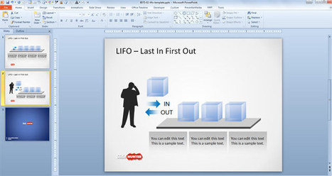 Free LIFO PowerPoint Template | Power Point Presentations | Scoop.it