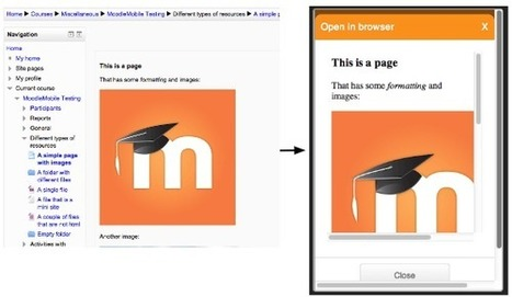 Creating Mobile friendly Moodle courses #MoodleMobile | Moodle Best LMS | Scoop.it