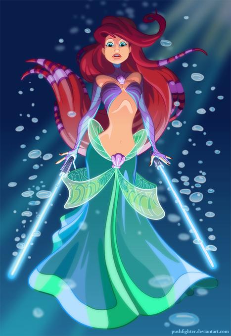Jedi Ariel | Guerre stellari | Scoop.it