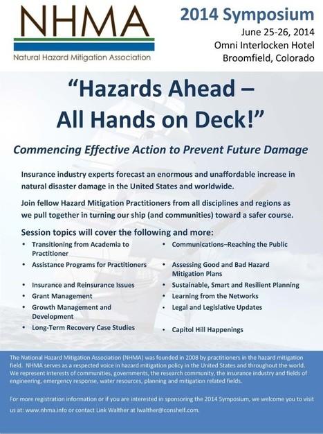 2014 Workshop | nhma.info | Natural Disaster Hazard Mitigation | Scoop.it