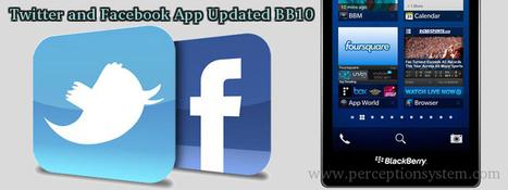 Blackberry 10's Twitter and Facebook App Updated with New Feature   BLACKBERRY APP MART   Scoop.it