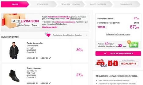 Tati.fr : un nouveau tunnel de commande sans création de compte : Capitaine Commerce 3.6   Commerce : e-commerce, m-commerce ...   Scoop.it