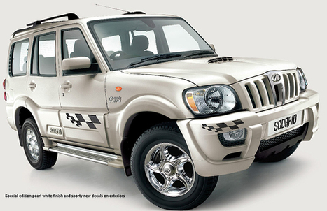 Mahindra to unveil the hybrid SUV with manual transmission | AllOnAuto.com | New Cars and Bikes in India | allonauto.com | Scoop.it
