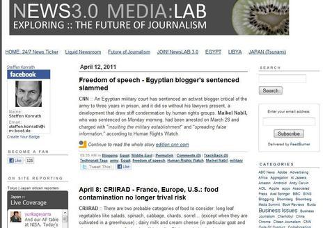 Future of Journalism - News 3.0   Top sites for journalists   Scoop.it