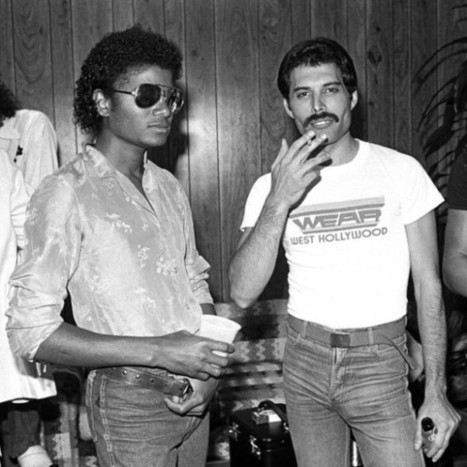 Michael Jackson et Freddie Mercury | CHRONYX.be : we love new and future music releases ! | Scoop.it