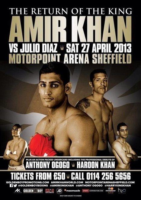 Official Promo: Khan vs Diaz Live | Exclusive PPV Boxing | Spot News @ Sheffield On Direc.TV - 27Th,Apr! | Sports 247 Live | Scoop.it
