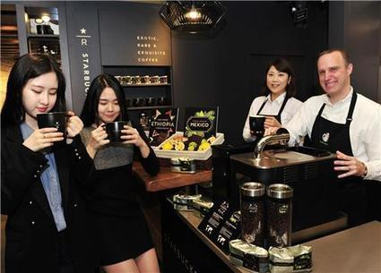(Yonhap Feature) Koreans in love affair with coffee | Exploring Cafe Nations | Scoop.it