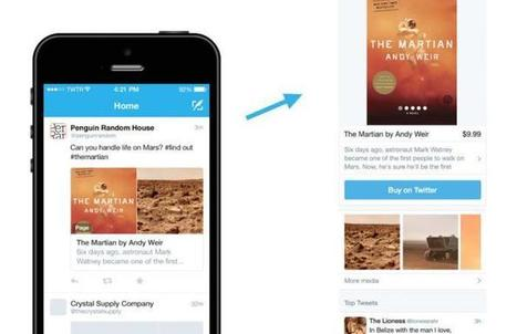 Twitter introduit un bouton «acheter» | Going social | Scoop.it