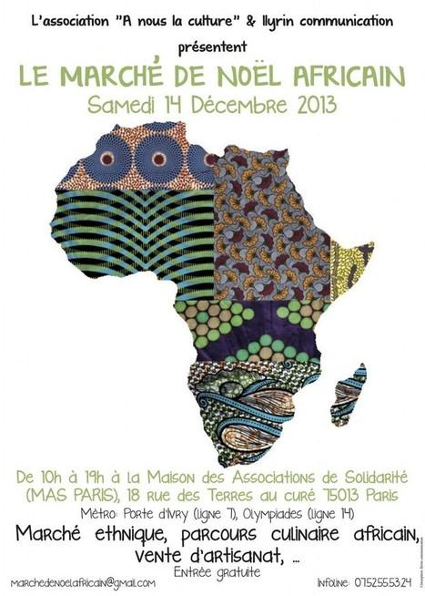 WaxinDeco au marché de Noël africain - Wax 'n Deco - Linge de ... | WaxinDeco | Scoop.it