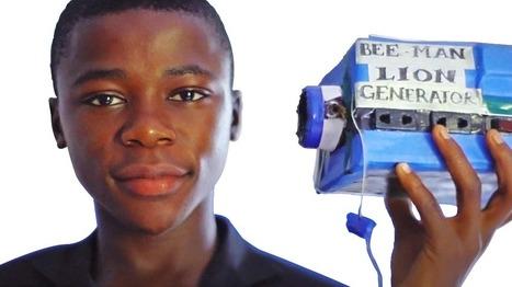 Un jeune surdoué crée une batterie pour alimenter tout son village en électricité - | Persifleuses perceptions | Scoop.it