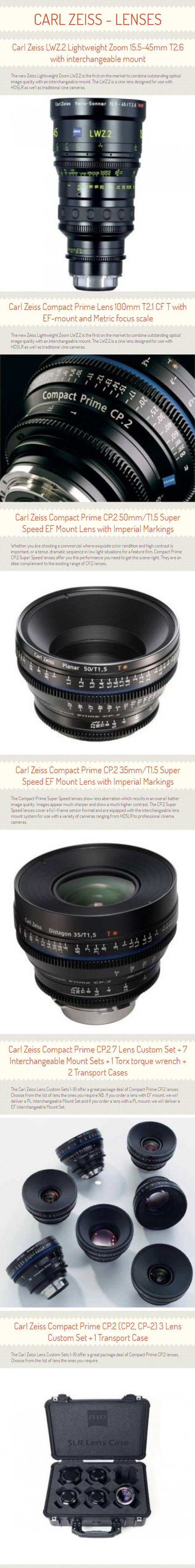 Carl Zeiss - Live Sport Zooming with Compact Lens Set - www.digibroadcast.com | digibroadcast | Scoop.it