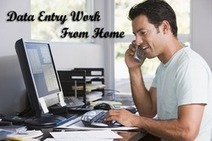 Data Entry Work From Home- Your Easy Source Of Income   Qube Info Solution Pvt. Ltd.   Scoop.it