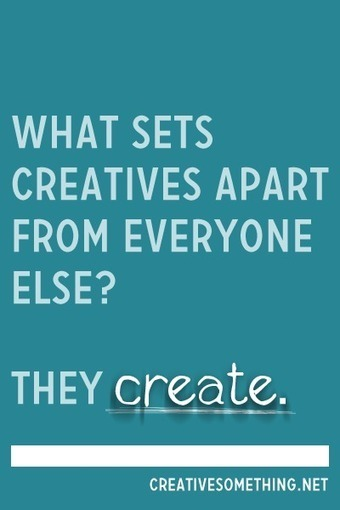 What sets creatives apart from everyone else. Creative Ideas Blog | creative process or what inspires creativity? | Scoop.it
