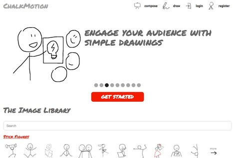 Chalkmotion - Engage with Simple Drawings | Web information Specialist | Scoop.it