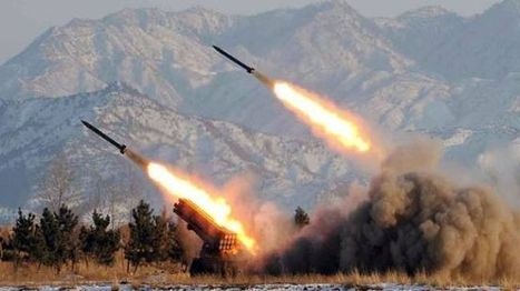 North Korea test-fires 16 more missiles | China Commentary | Scoop.it