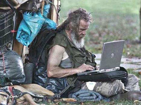 Las personas sin hogar se sienten aceptados en las redes sociales, según estudio | Facebook | Scoop.it